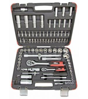 94 PCE SOCKET SET 1/4- 1/2 DR